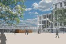 Zevenaar verhuist / Ontwikkeling van het BAT-terrein aan de Kerkstraat in Zevenaar: huisvesting gemeentehuis, ontwikkeling Hal 12, ontwikkeling achterterrein, behoud cultuurhistorisch erfgoed en totaaloverzicht.