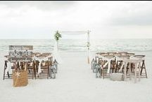 Beach Weddings Arbors / Our creative designers put a lot of love into each setup! Enjoy taking a look through some of our favorite beach weddings arbors. All images copyright Tide the Knot Beach Weddings  www.tidetheknotbeachweddings.com