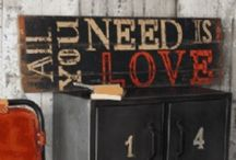 Signs, Signs, everywhere are signs / Signs with vintage in mind.... / by Unique Junktique