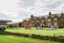 Brampton Grange Weddings / Brampton Grange is a barn wedding venue set in Northamptonshire countryside just 15 minutes from the M1. Find out more on this venue: http://bit.ly/20YYaBi