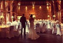 Cooling Castle Barn Weddings / Three beautiful barns next to a castle, which can be all yours for your magical Kent wedding. The wedding venue also has 15 luxury bedrooms for you and your guests. Find out more about the venue: http://bit.ly/1wDUOCB