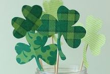 St. Patrick's Day Decor / St. Patrick's Day is almost upon us, and you're in luck – here are some stylish ways to incorporate (pot o') gold and (shamrock) green into your decor!