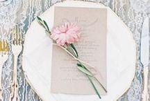 CHWV ♥ Wedding Place Settings
