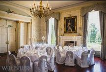 Rowton Castle Weddings / Steeped in history, Rowton Castle is an impressive building with its sweeping driveway, authentic stone exterior, arched entrance and towers; it is guaranteed to take your breath away. Find out more about the venue: http://bit.ly/1z5MlMk
