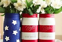 Memorial Day Party Ideas / Celebrate Memorial Day in style with these patriotic decor ideas, DIY crafts, recipes and more!
