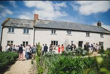 River Cottage Weddings / With its secluded farmland location on the Devon/Dorset border, and just a stone's throw away from the stunning Jurassic coast, River Cottage is a boutique and breathtakingly beautiful wedding venue. Find out about the venue: http://bit.ly/1MLt05H