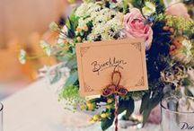 CHWV ♥ Wedding Table Names