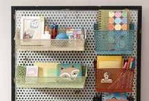 Get Organized! / A place for everything, and everything in its place. De-clutter and organize your home or office space with these decor ideas!