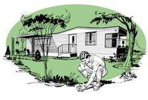 Trailer Trove / Updating Mobile Home Decor