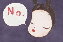 No! / No is a complete sentence