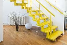 Color Inspiration: Yellow / It's the color of warmth, sunshine and optimism. Add a pop of bright, cheerful yellow to your space.
