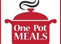 One Pot Meals / Meals cooked in one pot : casseroles, crockpot, mini coquette, mini lecrueset, mini staub, ramekins, power pressure cooker xl, instapot, pressure cooker.