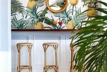- Palm & Rattan Love - / Inspiration Board