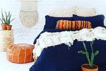 -Terracotta & Blue Hues -