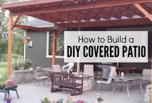 DIY Backyard projects / DIY outdoor projects from Pallets, Furniture, BBQ Pits,