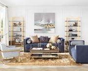 Uptown Glam Decor / Uptown Glam is a design style that tends to be luxurious, over-the-top and opulent. It's a dramatic design style, perfect for a homeowner who enjoys making a statement.
