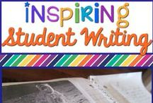 Teaching Writing / Anchor charts, lesson ideas, and strategies for teaching writing. / by Buzzing with Ms. B