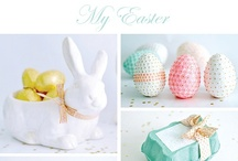 Easter/Spring / Crafts, recipes, and decorations that bring a little spring into your life!  Whether you focus on Spring as a whole or include Easter decor, you'll find lots of great ideas here!