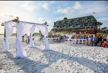 """Beach Wedding / This day is one of the most special day of your life! Take a look at these beautiful Destin Florida beach wedding photos from Henderson Park Destin Beachfront Hotel. There is no better place to say """"I Do!"""""""
