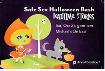 """Safe Sex Halloween Bash 2012 / Go to http://www.facebook.com/#!/myplannedparenthood/photos_stream and tell us which """"Deadtime Stories"""" characters you liked the best! / by Planned Parenthood of SW & Central FL ♥"""