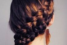 Styling hair / Hair tutorials, haircut inspirations