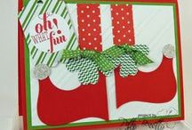 Christmas card ideas / Stamped cards and other great Christmas cards to make by Patty Bennett