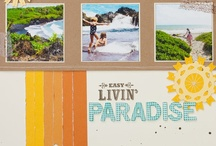 Scrapbook Page Ideas / Ideas for scrapbook layouts.