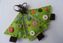 Christmas Crafts / DIY crafts and home decor for the Christmas holidays