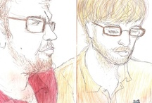 Miriam's Illustration / drawings of my friends / by Miriam Langsam