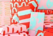Wrap it Up / http://wrapitupwithallie.com   Wrapping paper and wrapping design.