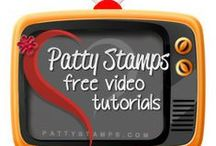 Patty's Stampin Videos / Stamping and crafting Stampin Up video tutorials with lots of How To Tips by Patty Bennett at www.PattyStamps.com  - - See all of my 100+ FREE Video Tutorials here:  http://www.pattystamps.typepad.com/pattys_stamping_spot/pattys-stampin-up-free-video-tutorial-index.html  / by Patty Bennett