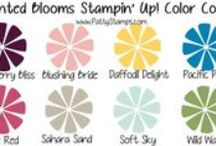 Crafty Color Combos / Stampin Up Color Combos for craft projects and stamped cards, by Patty Bennett / by Patty Bennett