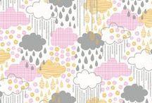 NUAGE / nuage soleil meteo couture pour enfant decoration