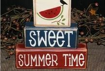 Summer Fun / Ideas and Decor for the Best Summer Ever! / by Occasionally Crafty