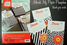 My Paper Pumpkin Kits / Projects featuring Stampin Up! My Paper Pumpkin monthly crafting kit subscription by Patty Bennett / by Patty Bennett