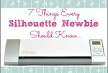 All Things Silhouette / Helpful tips for creating with the Silhouette craft cutter. / by Occasionally Crafty