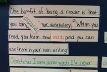Writing Conventions / Ideas for teaching spelling, capitalization, punctuation, grammar, and syntax. / by Buzzing with Ms. B