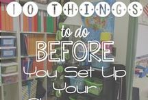 Setting Up the Classroom / Getting your room ready for your learners! Building a great classroom environment. / by Buzzing with Ms. B