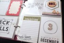 Project Life by Stampin Up / Quick and simple Project Life scrapbooking solutions offered by Stampin Up in partnership with Becky Higgins! learn more at www.PattyStamps.com / by Patty Bennett