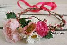 Flower crowns/ halo/hair wreath
