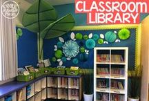 Classroom Libraries & Reading Nooks / An organized and well-rounded classroom library is a great tool. This board includes ideas, tools, and layouts for the classroom library and reading nooks. / by Buzzing with Ms. B