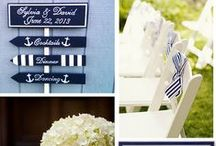 Nautical Wedding / By the sea is the place to be