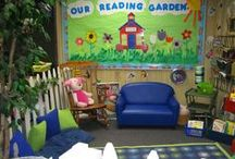 Reading Lounge / Cozy rooms to read in. / by Buzzing with Ms. B