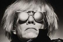 """ispirazioni * andy warhol / """"Nel futuro ognuno sarà famoso per quindici minuti."""" Andy Warhol"""