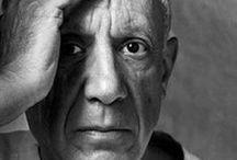 """ispirazioni * pablo picasso / """"A dodici anni dipingevo come Raffaello, però ci ho messo tutta una vita per imparare a dipingere come un bambino."""" Pablo Picasso"""