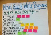 Reading Responses / Ways for students to respond to their reading / by Buzzing with Ms. B