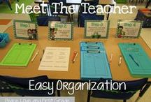 Open House and Meet the Teacher / Ideas for planning and organizing meet the teacher or Open House nights. Great tips for meeting parents and getting the year started right.