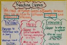 Reading Genre Study / Strategies and tools to help students learn to navigate different reading genres. / by Buzzing with Ms. B