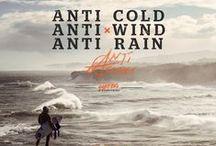 AntiSeries / ANTI RAIN  x   ANTI COLD  x  ANTI WIND / by Rip Curl