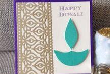 Cards - Diwali ♥ / Diwali handmade cards